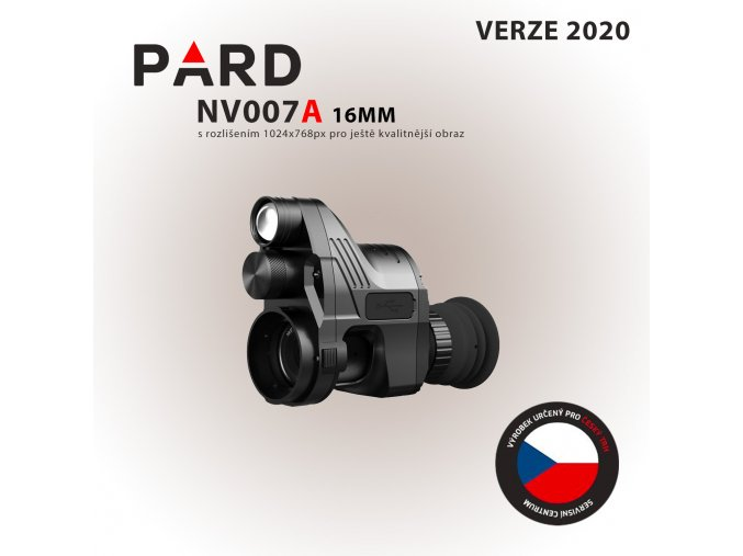 PARD NV007 16mm hotovo
